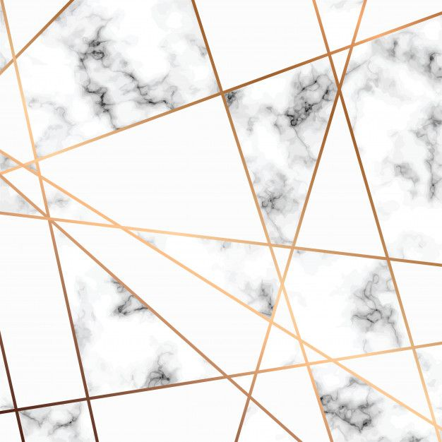 Marble Texture Design With Golden Geometric Lines Black And White Marbling Surface Premium Vector Marble Texture Texture Design Geometric Lines