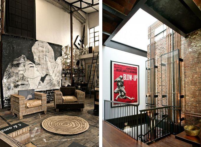 Interior Inspiration Industrial Revolution Industrial Style