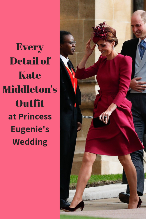 Kate Middleton S Fashion At Princess Eugenie S Royal Wedding Kate Middleton Outfits Eugenie Wedding Princess Eugenie