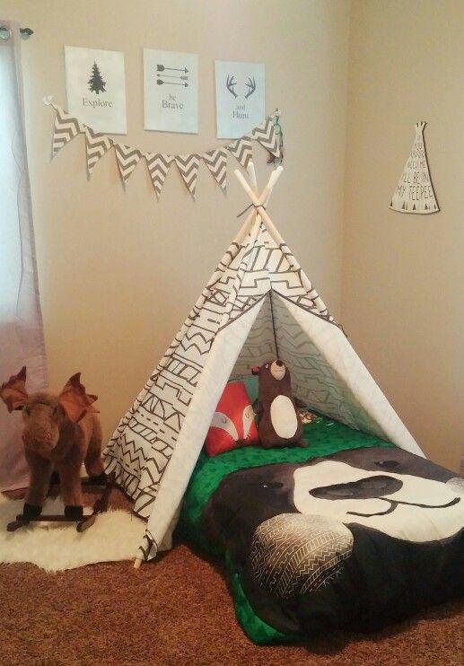 Hayden's new room, he loves it!!