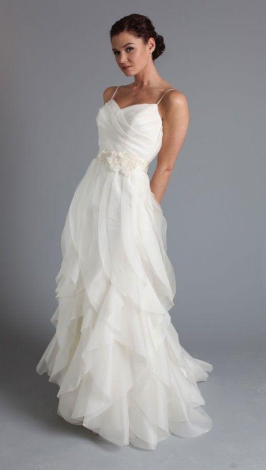 Chiffon Summer Wedding Dress