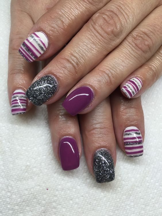 74 Fall Nail Colors Gel Nail Polish Design | Fall nail colors, Hand ...