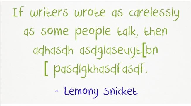 Lemony Snicket
