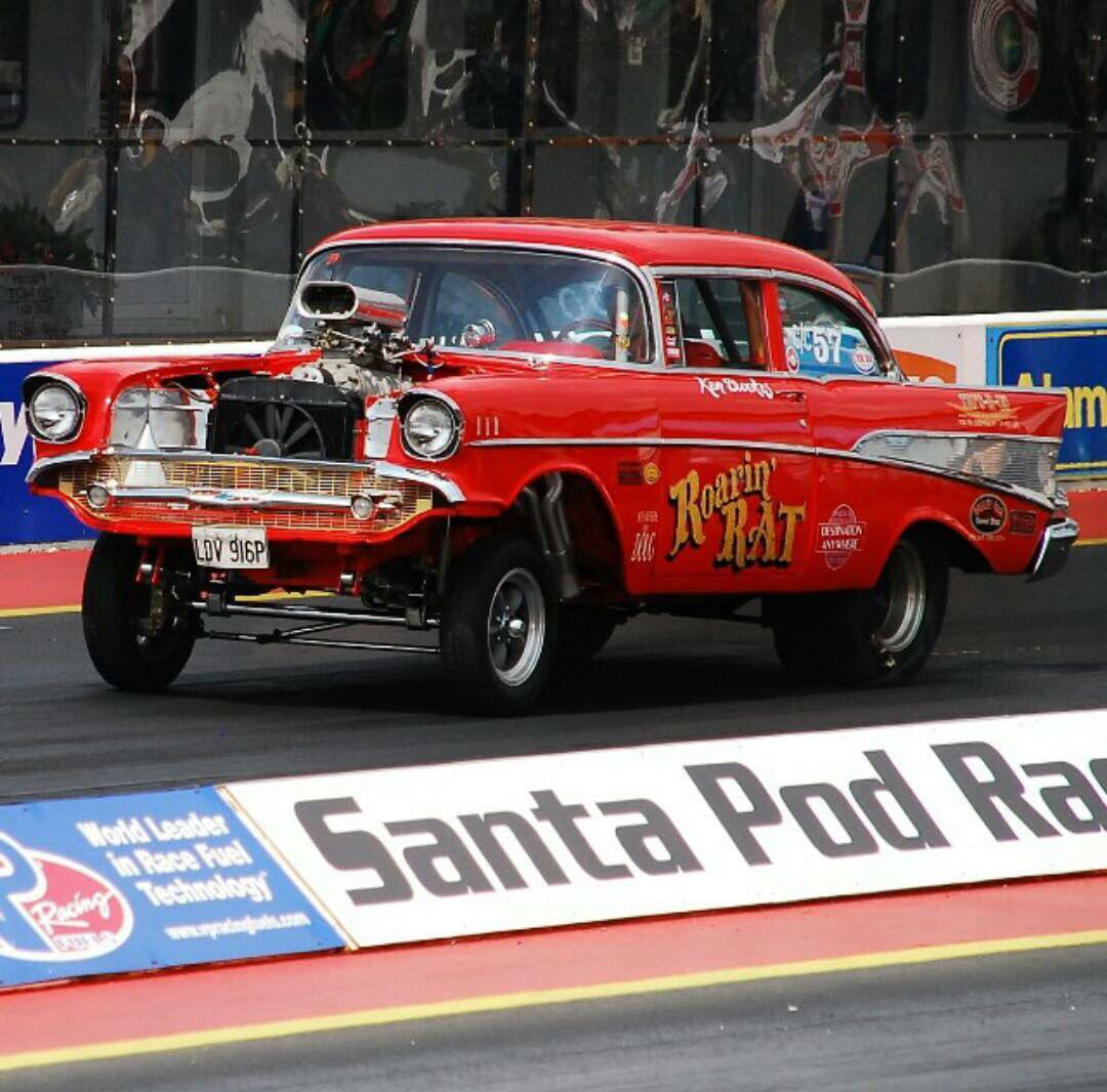 57 Chevy Old race cars, Chevy hot rod, Drag cars