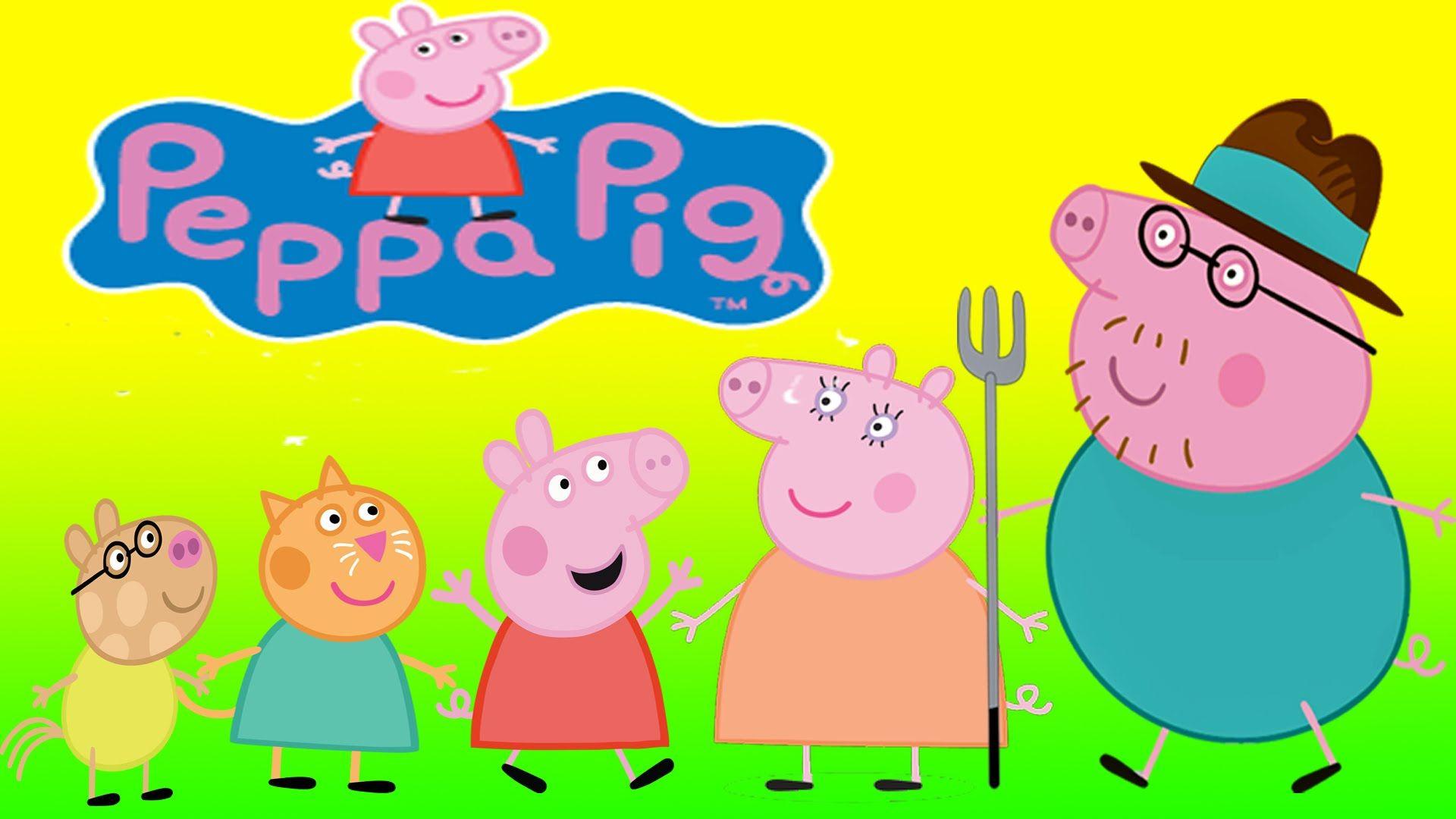 Peppa Pig Em Portugues Brasil   Peppa Pig Finger Family Songs