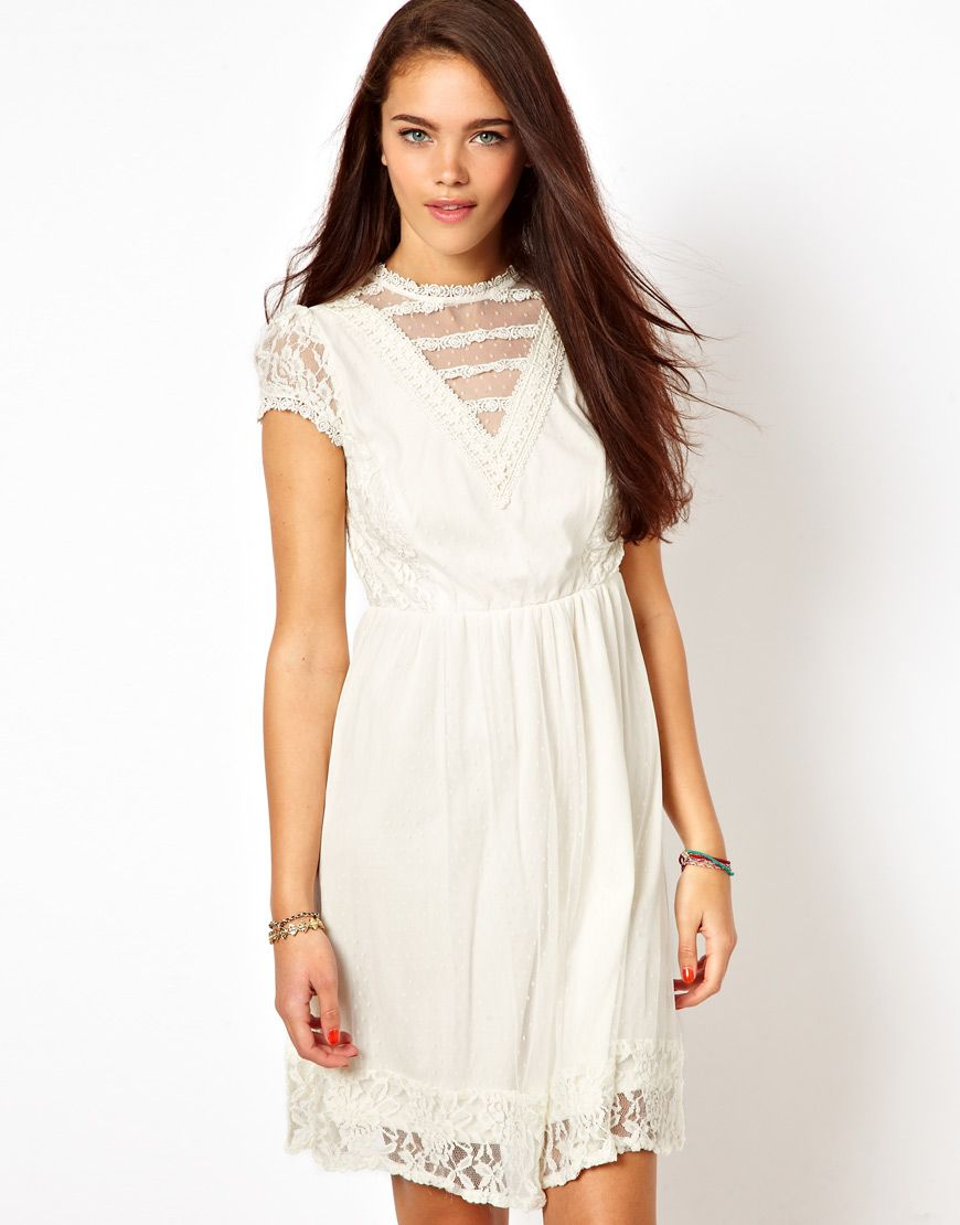 Victoriana Bridesmaids Dress From River Island Via Asos Short