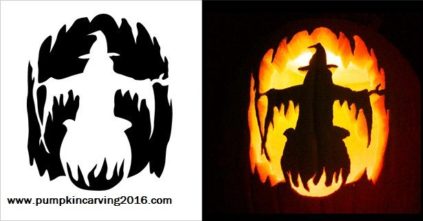 Devil Pumpkin Carving Stencil Free Pdf Pattern To Download And