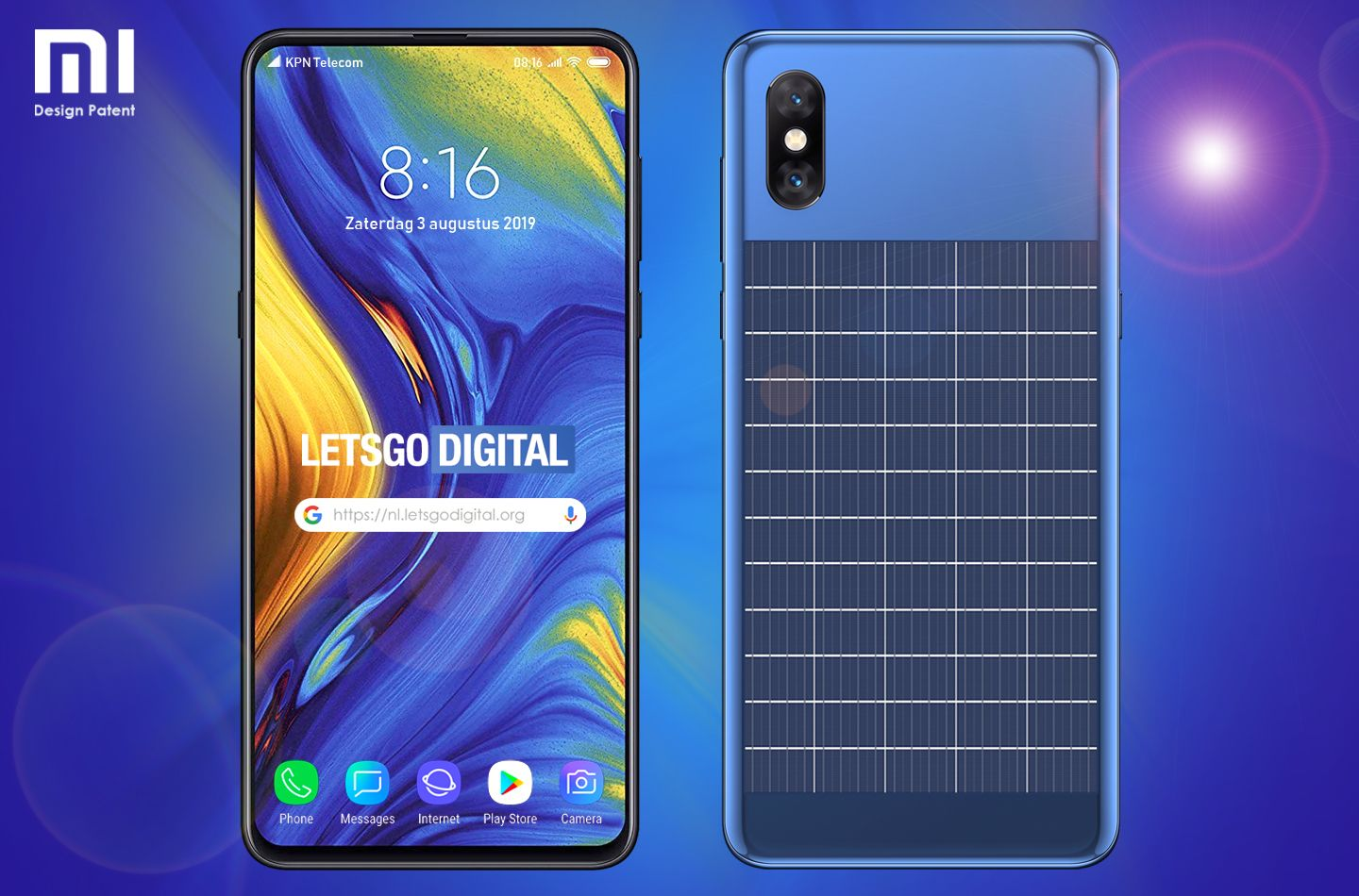 Xiaomi To Launch A Smartphone With An In Built Solar Panel On The Back Smartphone Xiaomi Solar Power