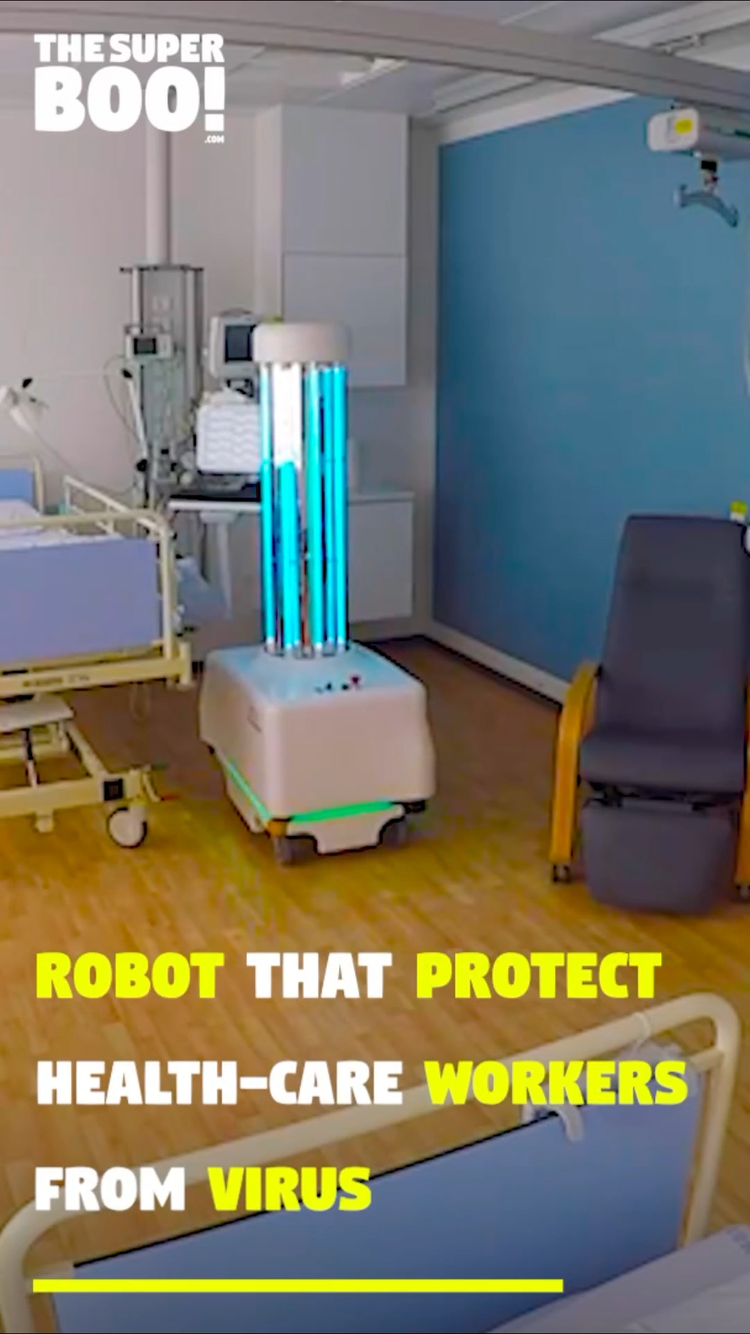 This Robot Battle Against Epidemic Situations!