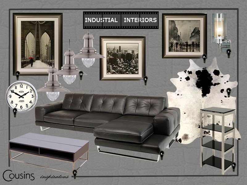 Exceptional Industrial Style Wall Art