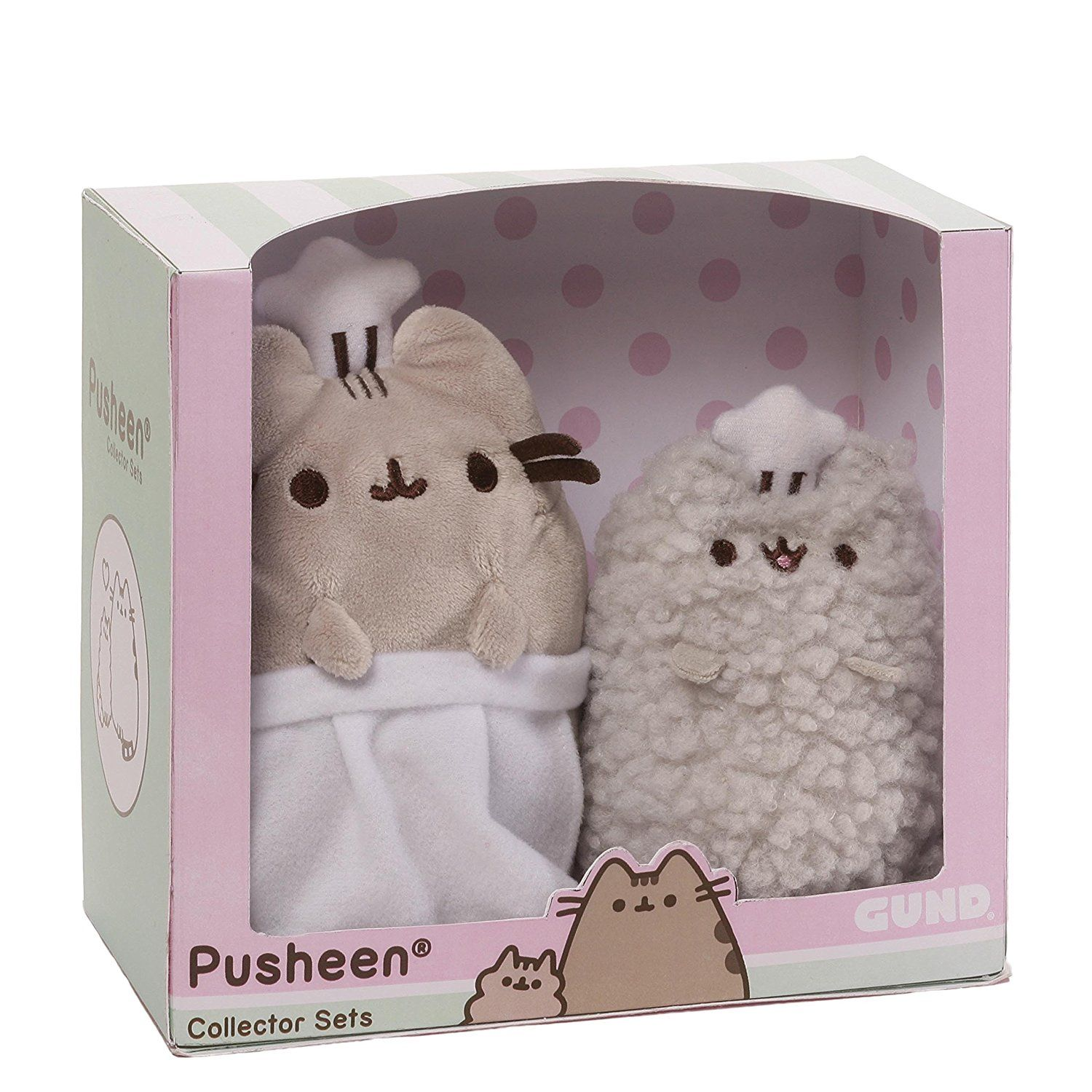 Abbie: Amazon.com: Gund Pusheen And Stormy Baking Collector Set: Toys U0026