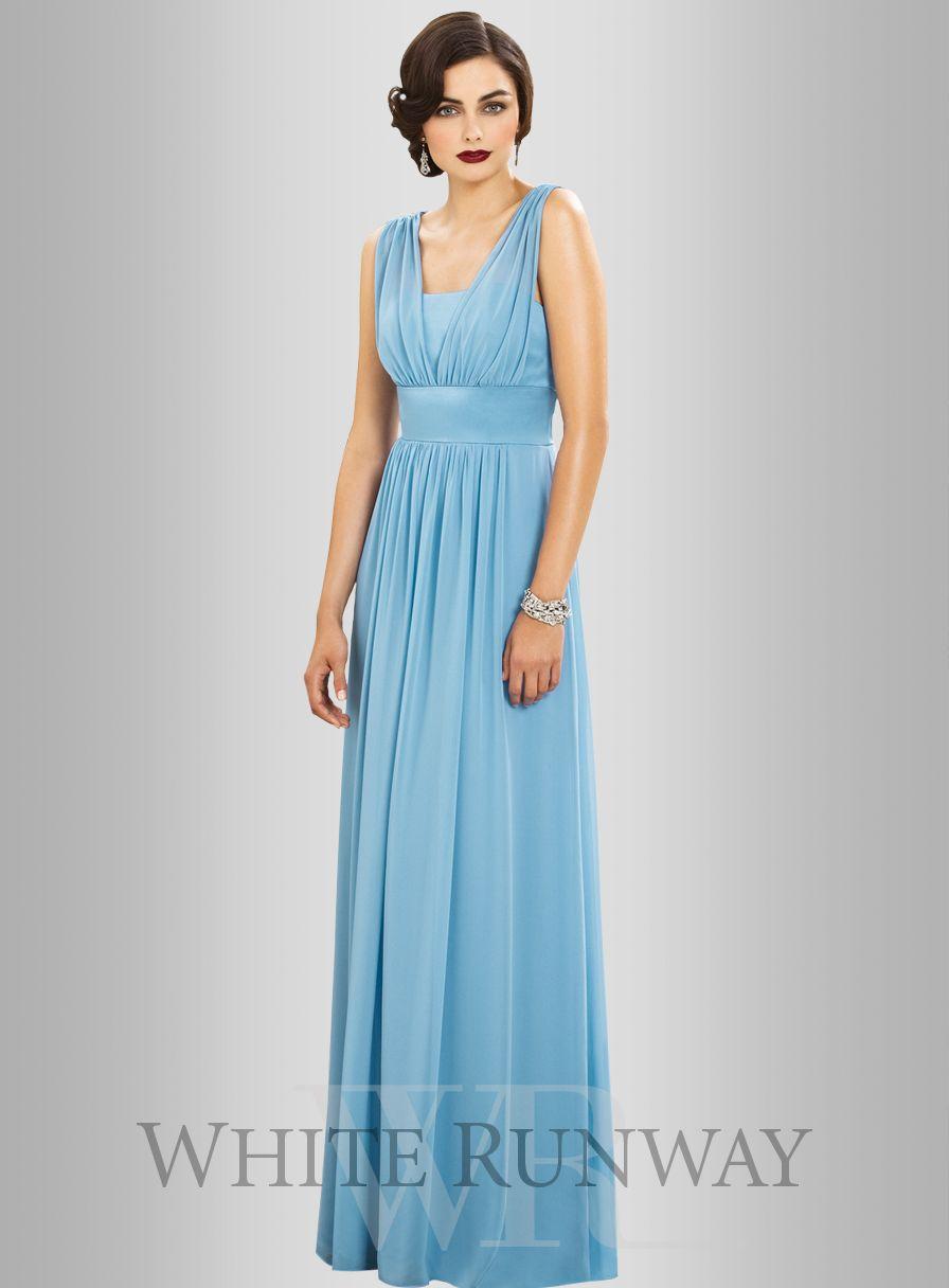 Madison Dress by White Velvet | One Shoulder Navy Blue Bridesmaid ...