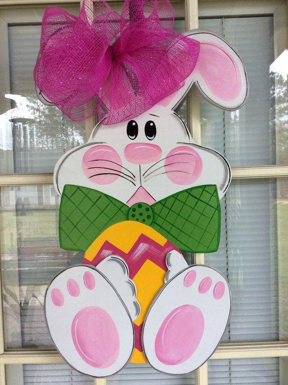 front door decor, Easter door decorations, Easter wreath ...