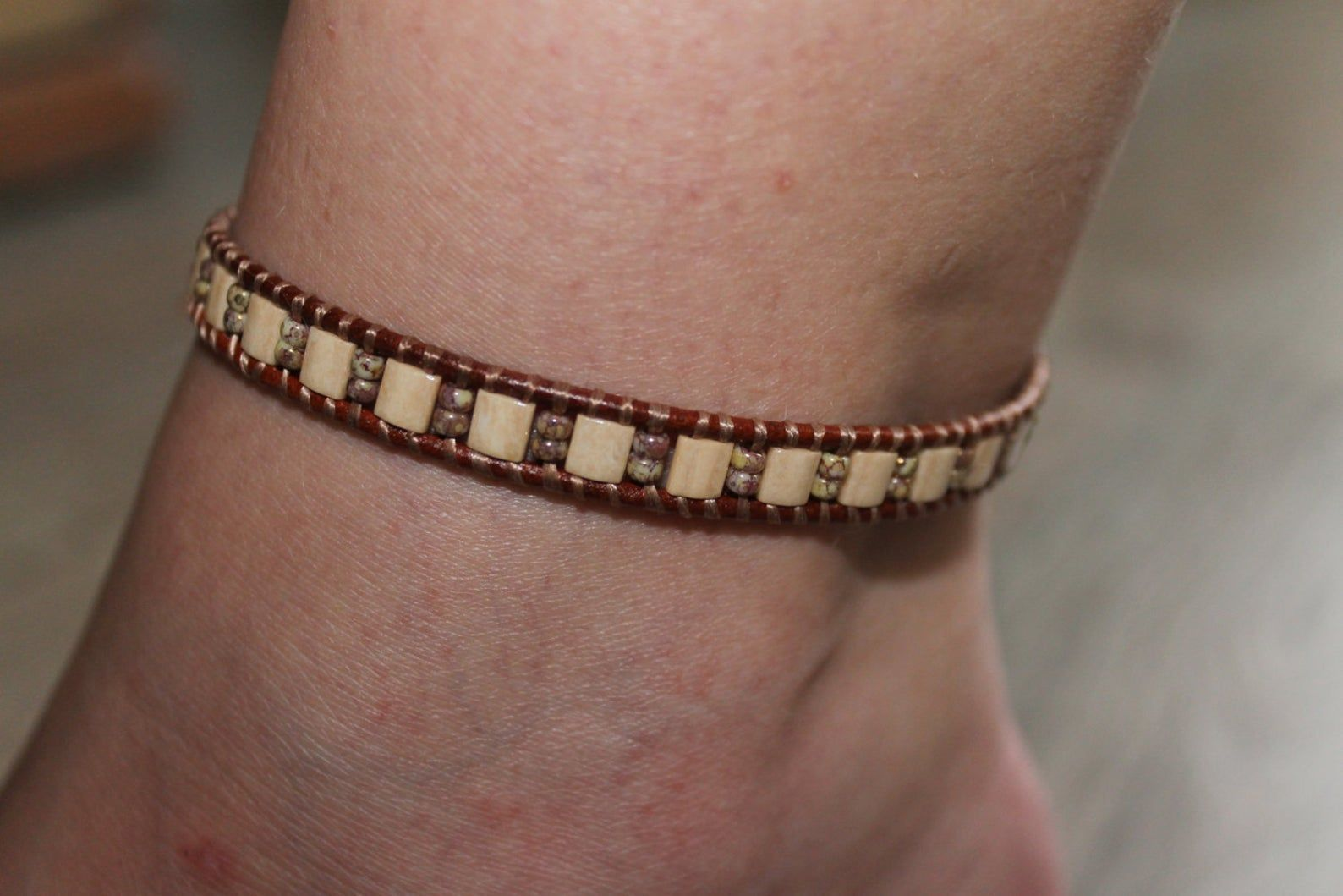 anklet beaded summer foot jewelry anklet bracelet ankle bracelet beach anklet women anklet trendy jewelry gift for her boho bohemian#ankle #anklet #beach #beaded #bohemian #boho #bracelet #foot #gift #jewelry #summer #trendy #women
