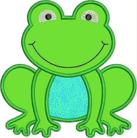 INSTANT DOWNLOAD Froggy Applique designs by DBembroideryDesigns