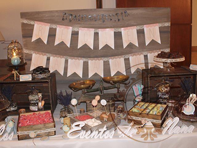 Mesa de dulces para la jornada de puertas abiertas en for Jardin milenio elche