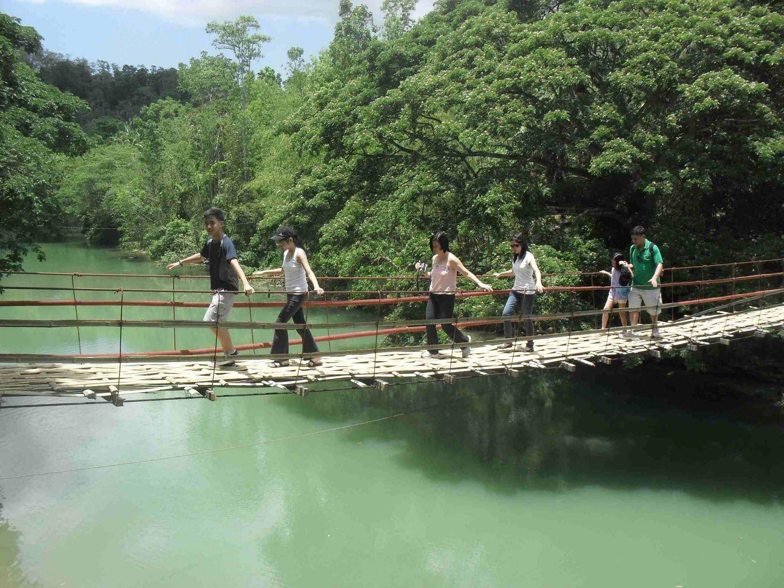 #HotelNewYork Hanging Bridge of Bohol
