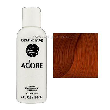 Adore Shining Semi Permanent Hair Color 76 Copper Brown