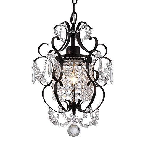 Uaakrqfiojoglm Mini crystal chandelier for bathroom