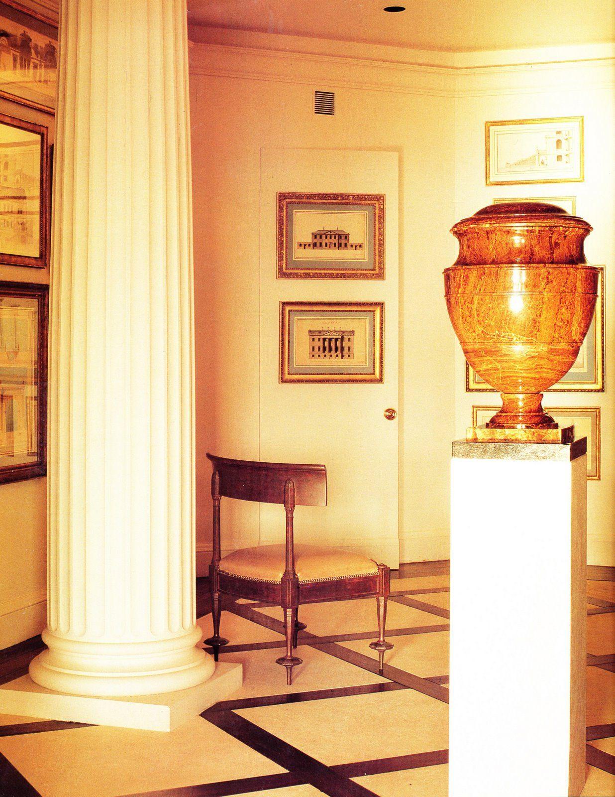Blass Foyer Classical Interior Design Traditional Interior