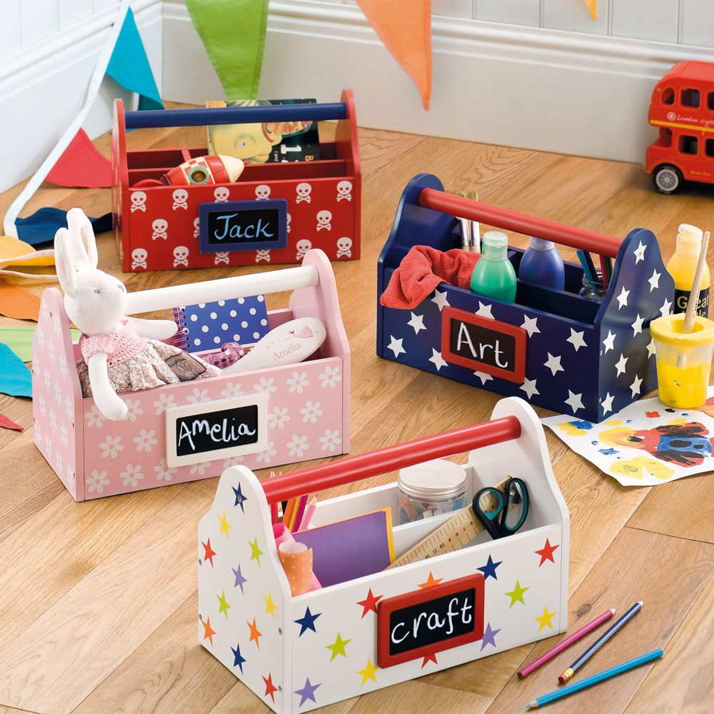 Kids Room Bedroom Storage Chest Unit Box With Lid For Sale: Home & School