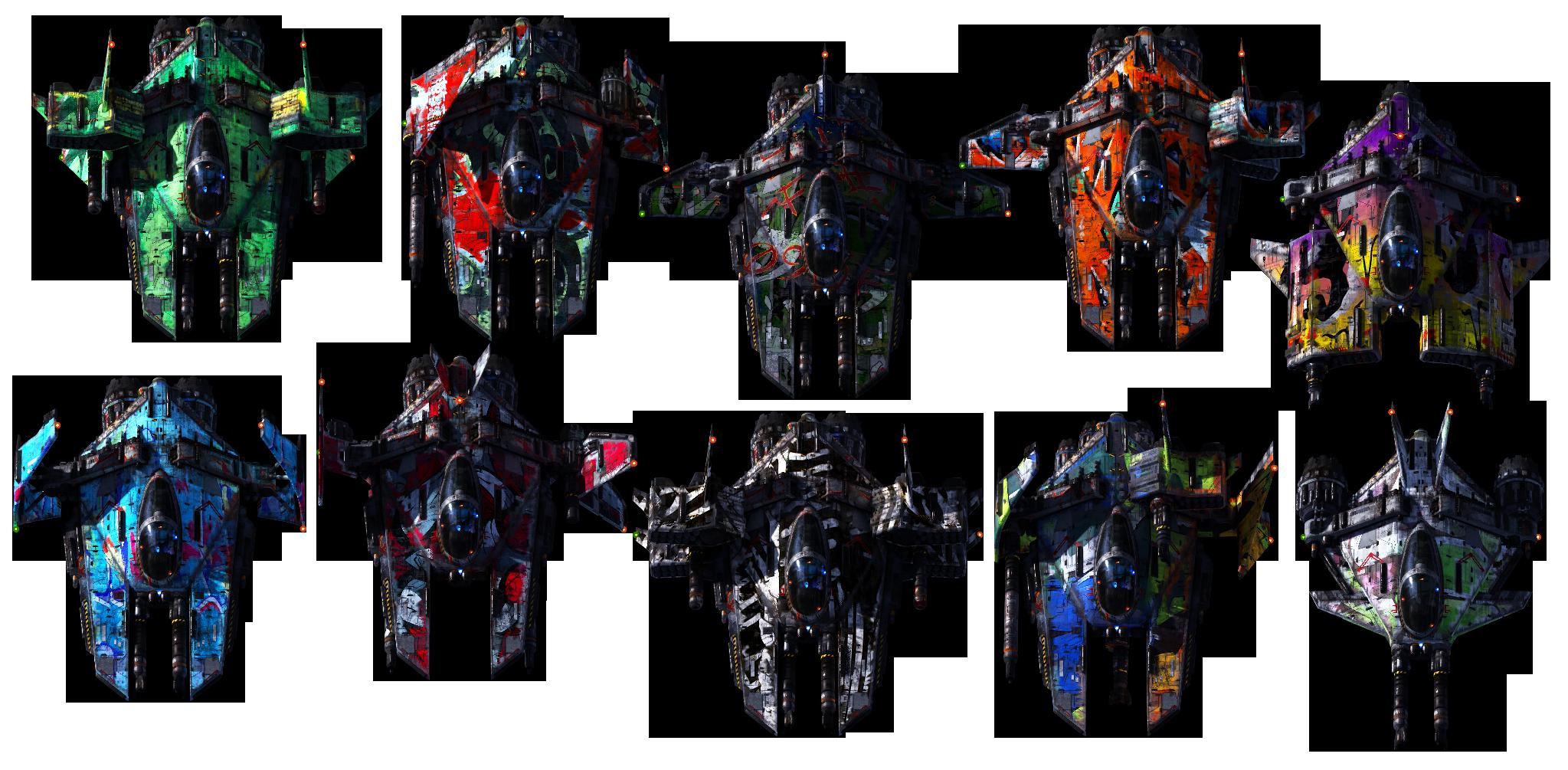 Realistic Spaceships | Game art, Sprite, Game design