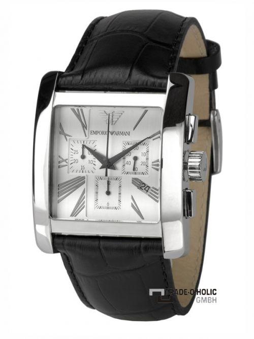 d07ffa2cc9e Emporio Armani AR0186 Classic Herrenuhr Chronograph