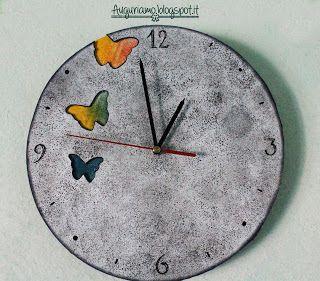 Orologio farfalloso fai da te!  Orologio handmade! Spero vi piaccia!