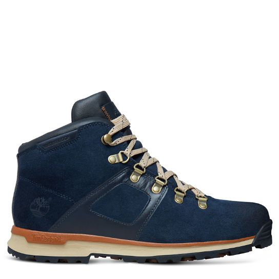Men's GT Scramble Mid Leather Navy | www.timberland.co.uk