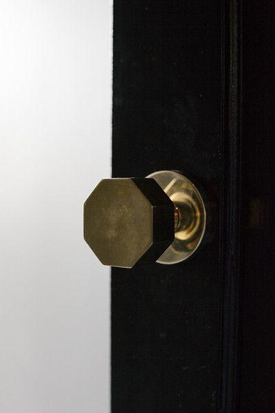 Black Sliding French Doors