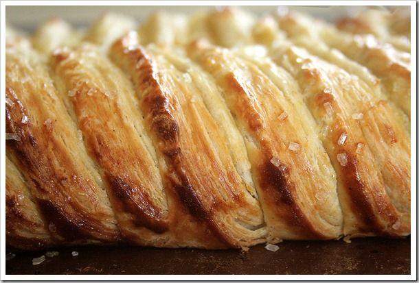 White Chocolate Cream Cheese Danish Braid with Tart Apples & Walnuts from @ DoughMessTic