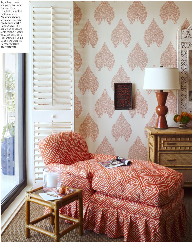 China Seas Fiorentina Chair With Home Couture Taj Wallpape