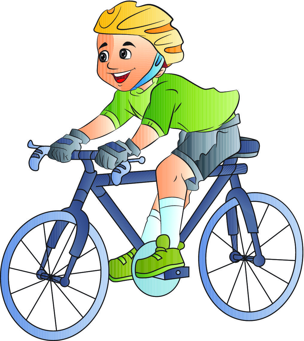 boy on bike cartoon - Google Search | sports et profession ...