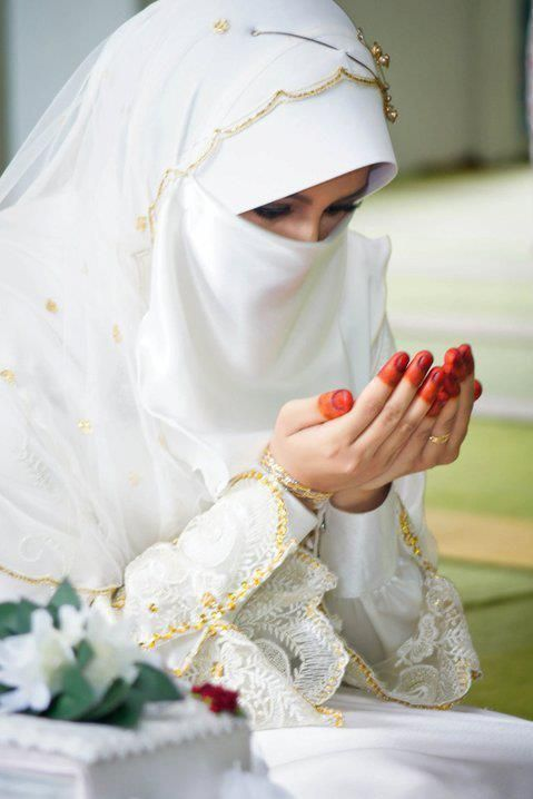 Niqab muslim wedding Niqāb