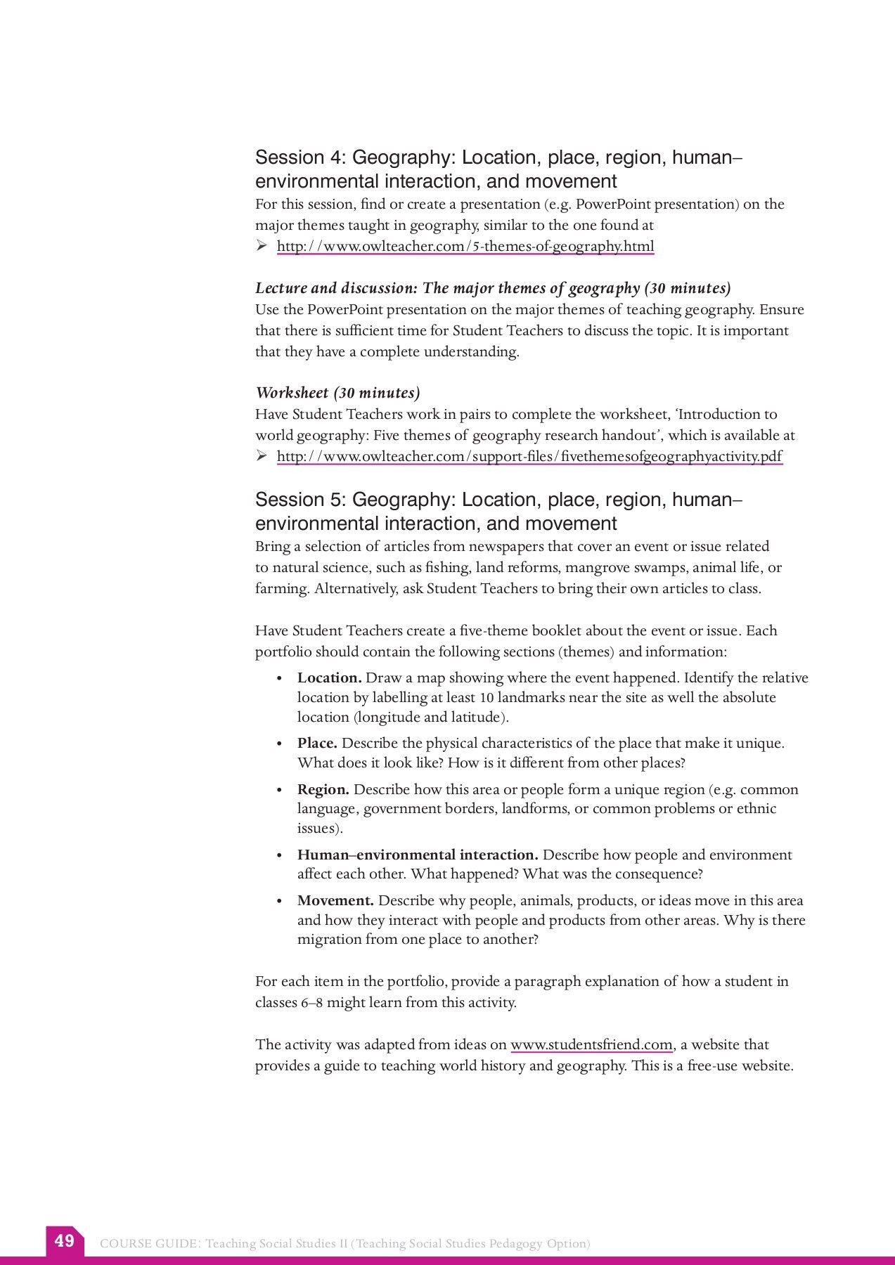 10 Recent Free World Geography Worksheets Free World