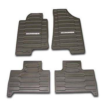 Hummer Accessory Oem Hummer H3 Custom Vinyl Floor Mats Hummer
