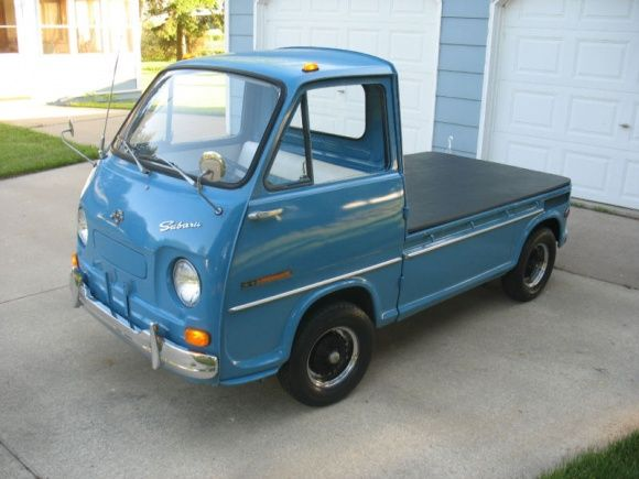 Very tiny 1969 pickup truck in near perfect condition for sale