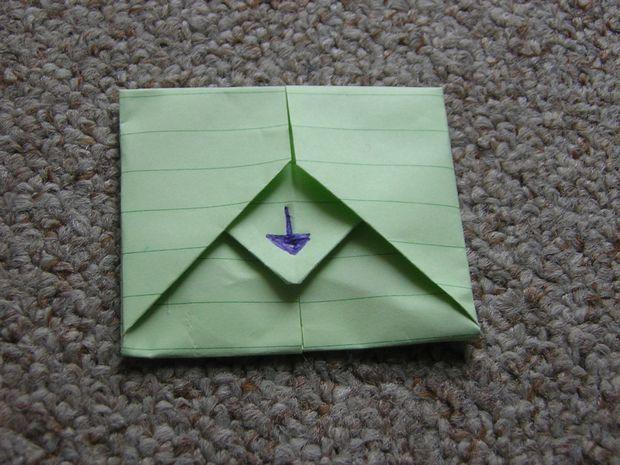 Turn Your Letter Into ItS Own Envelope  Envelopes Crafts And