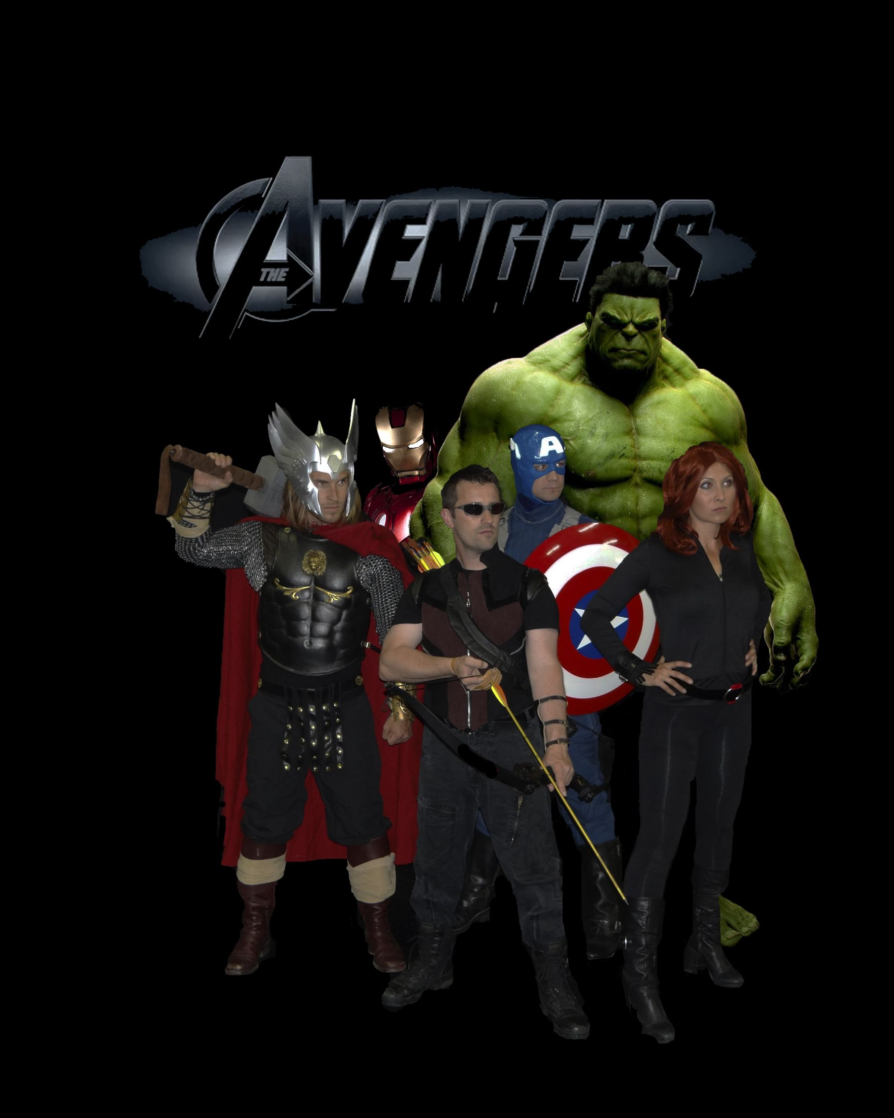 Avenger party characters