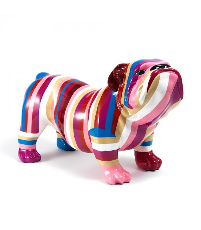 statue bulldog fashion animal en resine 62 x 37 x 25 cm description du mod le bulldog. Black Bedroom Furniture Sets. Home Design Ideas