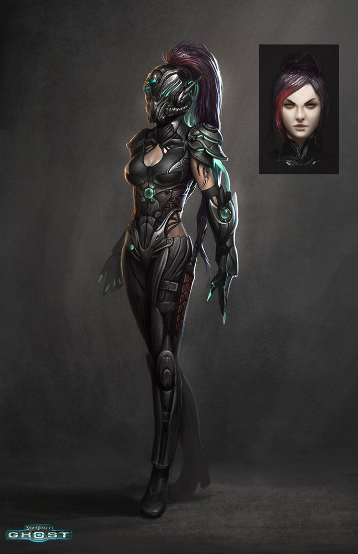 STARCRAFT GHOST SPECTRE LADY by Paul Hyun Woo Kwon | Sci ...