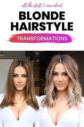blonde hairstyle transformations ash blonde balayage ash blonde hair balayage ha #ashblondebalayage