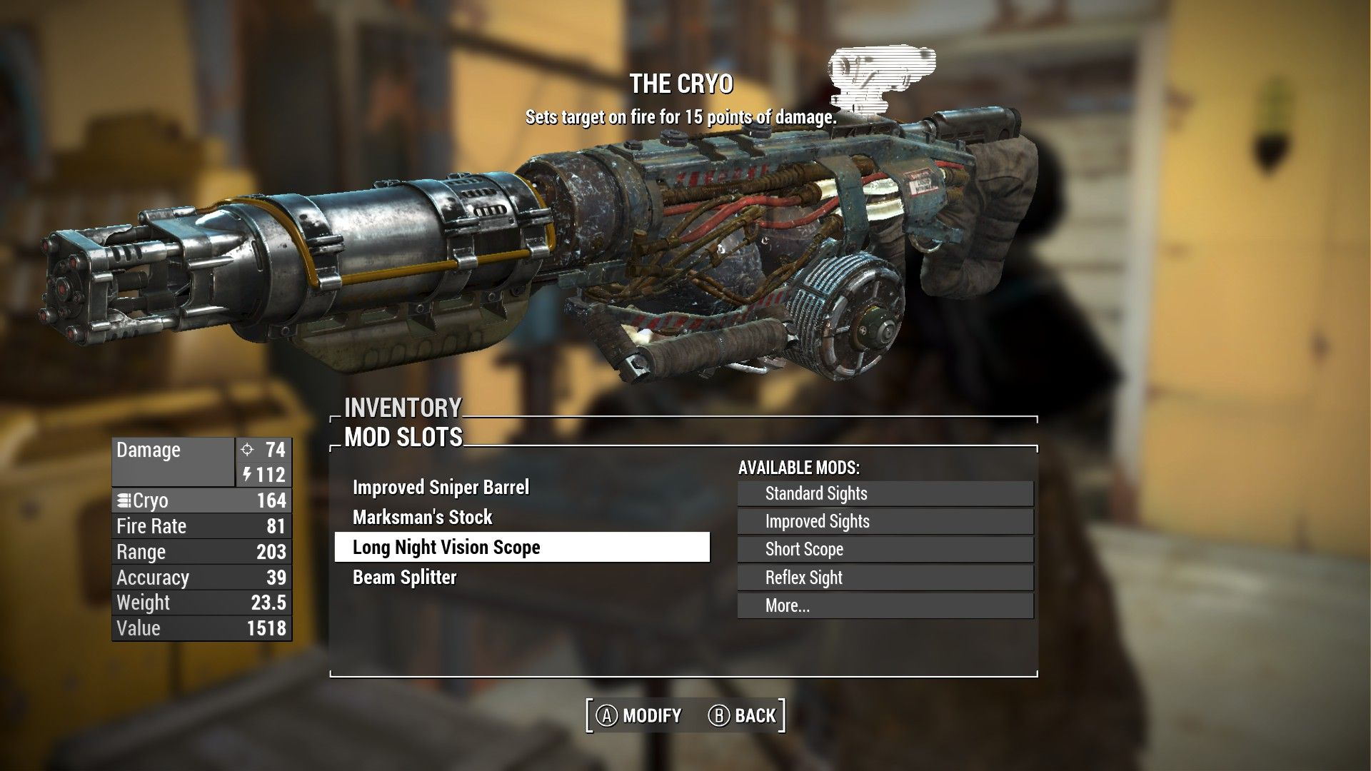 Customized Some Weapons - Fallout 4 Mod, Cheat | FO4