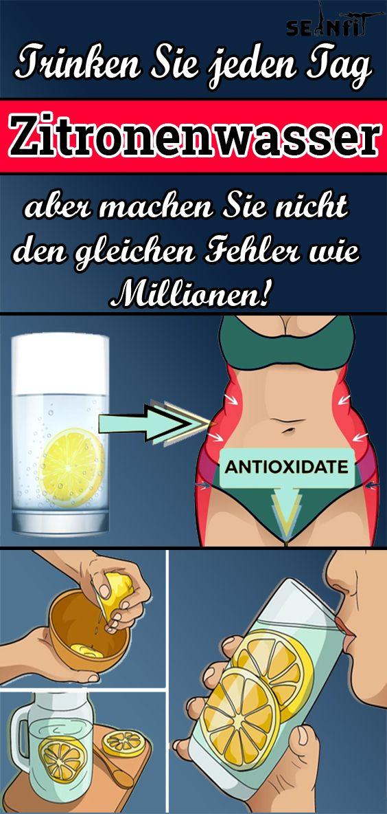 Trinken Sie jeden Tag Zitronenwasser, aber machen Sie nicht den gleichen Fehler wie Millionen!