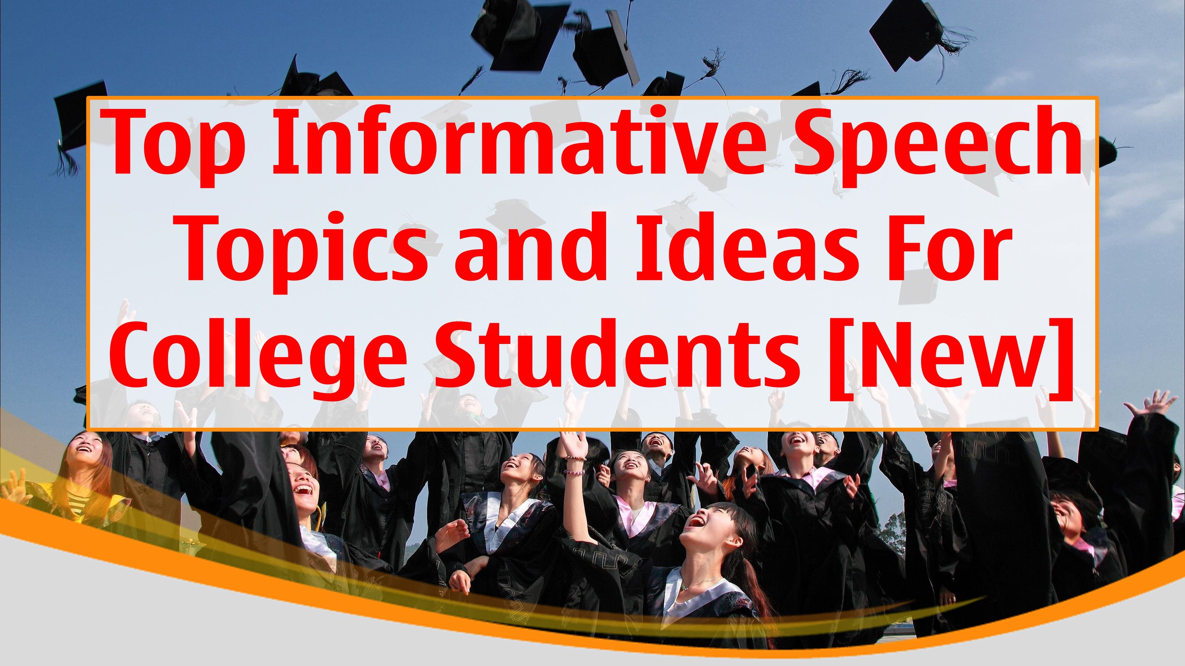 informative speech topics 2019