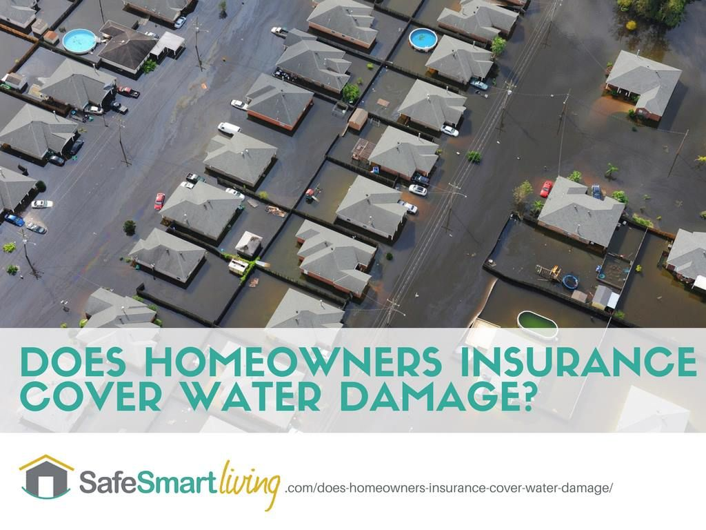 Does homeowners insurance cover water damage flood