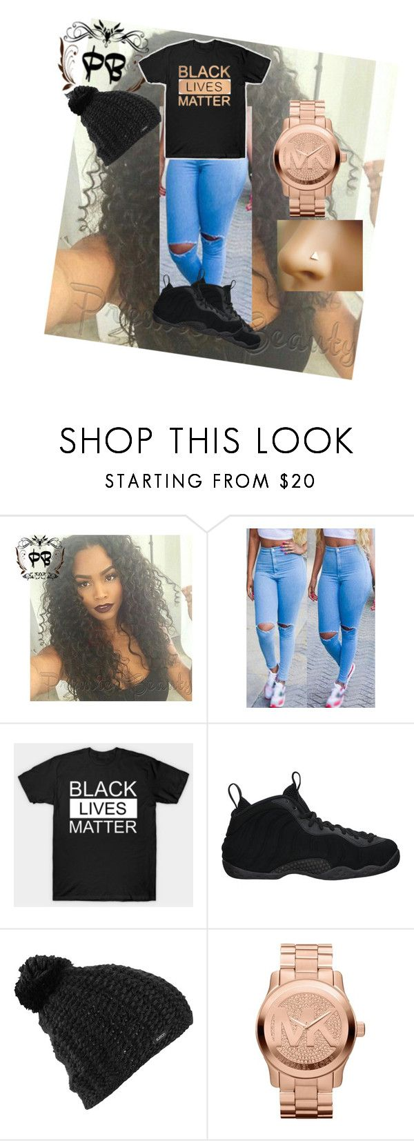 """#WEMATTER✊✊✊"" by savagelife01 on Polyvore featuring NIKE, Burton and Michael Kors"