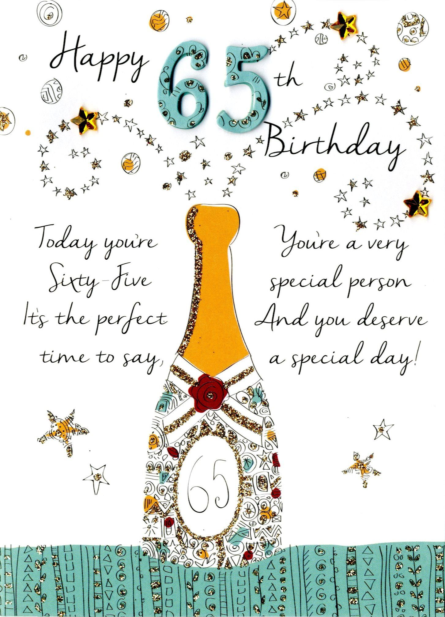 Image result for Happy 65th Birthday