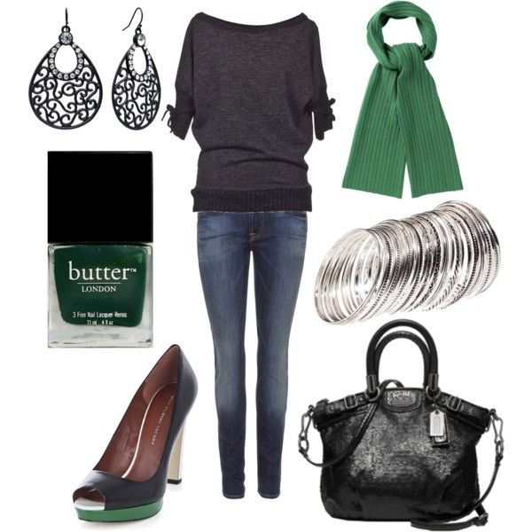 Green with Envy, created by lovinthatstyle.polyvore.com