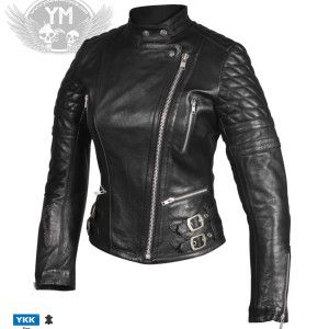 Nexo Fly Angel Ladies Leather Motorcycle Jacket Leather Jackets